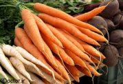 سبزیجات ریشه ای  برای کاهش وزن