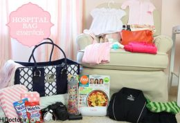 چگونگی آماده کردن وسایل نوزاد برای بیمارستان
