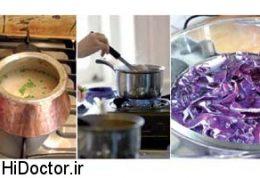 امن ترین و بهترین ظرفهای اشپزی