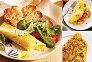 چگونه املت سالمی  برای صبحانه درست کنیم