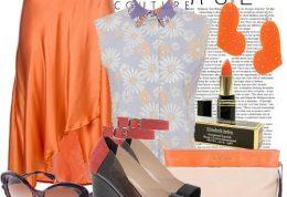 آیا رنگ نارنجی بعنوان انتخاب رنگ لباس خوب است؟