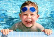 چطوری  برای بچه ها ورزش های آبی ترتیب دهیم