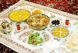 اهمیت مدیریت در مصرف مواد غذایی در ماه رمضان