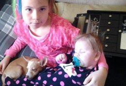 دختری با موهای سیخ از هنگام تولد