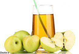 25 خاصیت شگفت انگیز آب سیب سبز
