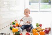 رسیدگی به ذهن کودک با تغذیه