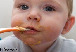 برترین غذاهای کمکی کودک زیر 12 ماه