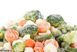 بازگرداندن طعم به سبزیجات یخزده