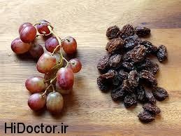 انگور و مویز چاره کم خونی