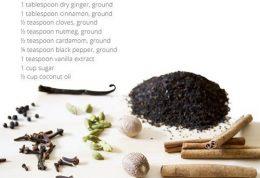 برای بدن اسکراب طبیعی  چای فوق العاده عالی است