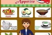 10 غذای فوق العاده عالی برای سرکوب اشتها