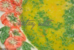 سوپ سبزی زنجبیلی