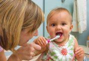 اصول مسواک کردن کودک