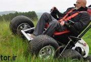 با یک ویلچر قوی موتوری چطورید