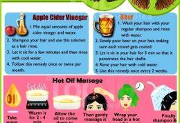 درمان خانگی برای مراقبت از موهای فرفری