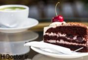 عوارض و بیماری های کیک شیرینی و شکلات