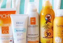 عوارض ضد آفتاب ها برای آبزیان
