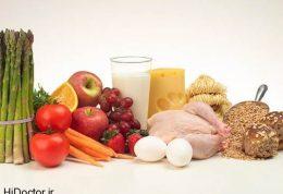مهم ترین فاکتورهای غذایی برای خانم ها