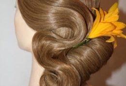 مدل موی جمع یکطرفه را اینگونه درست کنید