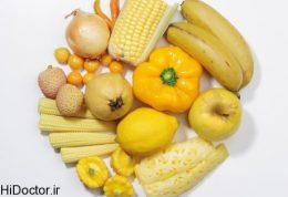تغذیه به رنگ زرد