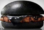 تا بحال همبرگر به این رنگ دیده بودید؟