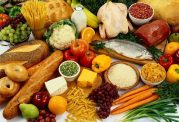 رژیم های غذایی غنی از تیرامین، پتاسیم، کلسیم، سدیم و آهن