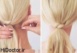 مدل موی گره ای را بشکل تصویری بیاموزید
