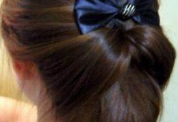 آموزش تصویری درست کردن مو با یک حلقه