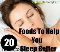 اگر خواب سنگین می خواهید؛ سراغ این غذاها بروید!