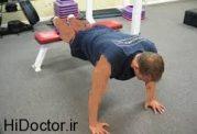این حرکت ورزشی مختص عضله سازی