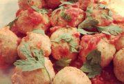 کوفته مرغ گوجه فرنگی غذای لاغر کننده