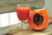 اسموتی سالم برای دیابتی ها: اسموتی  پاپایای پرتقالی