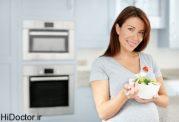 نرمال بودن جنین بشرط تغذیه صحیح مادر