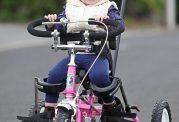 دوچرخه ای که اختلال مغزی در این بچه را درمان کرد