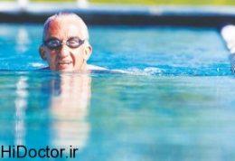 سالمندان به سراغ شنا بروند