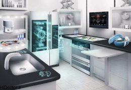 آشپزخانه اتوماتیک و هوشمند مدل 2014