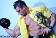 عضلات چه اندازه های ایده آلی باید داشته باشند