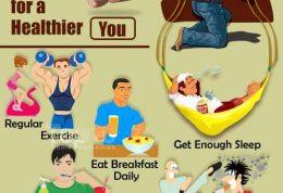 ۱۰ عادت سلامتی