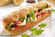 ساندویچ ها بیش از حد نمک دارند!