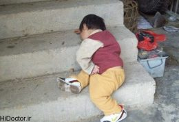 حالتهای مختلف خواب کودک در قالب تصویر