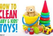 نظافت و میکروب زدایی وسایل کودک