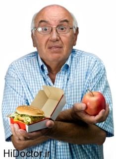 انتخاب های تغذیه ای پیشنهادی برای افراد سالخورده