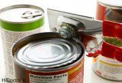 مسمومیت مزمن با غذاهای کنسرو شده