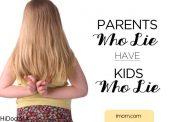 عواقب گفتن دروغ به بچه