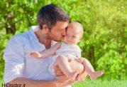 تاثیر خورد و خوراک پدر بر جنین