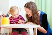 پرستار بچه و کنار آمدن کودک تان با وی