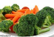 هویج و کلم بروکلی چربی سوزترین نوع سبزیجات