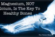 رتبه منیزیم از کلسیم برای استخوان بالاتر است