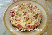 پیتزای واقعی در تابه فقط در عرض 15 دقیقه