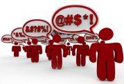 بکاربردن سخنان زشت در میان افراد جامعه